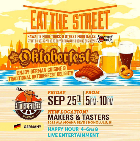 Octoberfest Hawaii Eat the Street