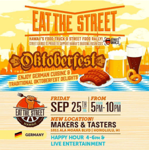 Octoberfest Hawaii Eat the Street