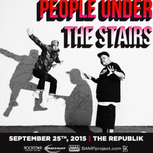 People Under the Stairs Hawaii Performance