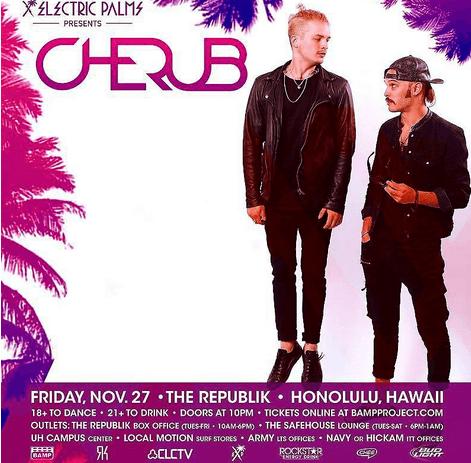 Cherub live in Honolulu