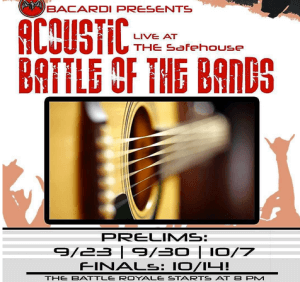 BAttle of the Bands by Bacardi